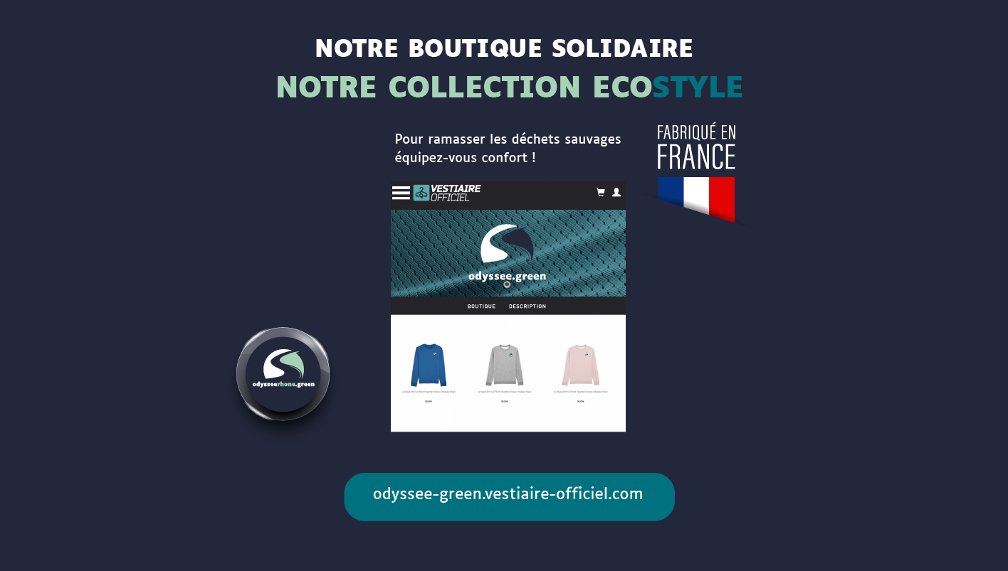 boutique officielle odyssee green